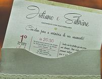 Convite//Casamento