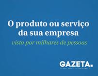Jornal Gazeta de Uberlândia - VT Anuncie
