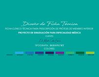 Diseño Ficha Técnica - Cliente: Dr.RCE
