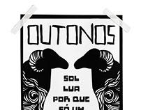 Outonos - Serigrafia