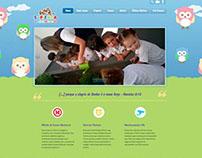 Site Centro Educacional Sapienza