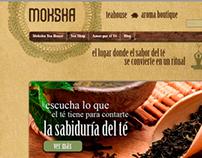 Sitio web Moksha