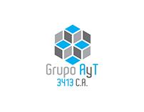 Grupo A y T Identity Design