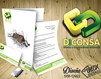 Logotipo y papeleria DICONSA