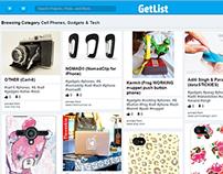 Pinterest Like website