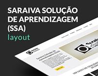 Saraiva Solução de Aprendizagem (SSA) • Layout