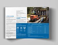Diseño editorial. Informe Institucional