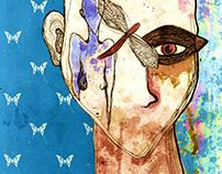 ilustração/colagem artística
