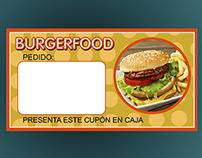 tarjeta ticket comida