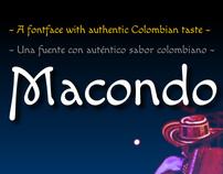 Macondo Typeface
