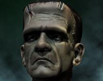 Frankenstein Portrait.