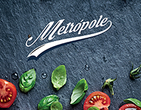 Rebranding - Pizzaria Metrópole