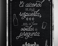 ArtesanA Beer Poster