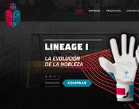 Diseño Onepage Responsive y Woocommerce para SG Keeper