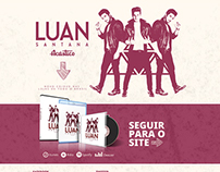 Luan Santana - Hotsite