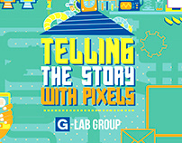 Telling the Story with Pixels - Intro Animation