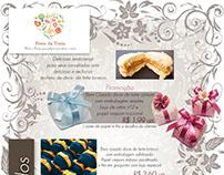 Criação do Catálogo impresso para Fruto da Terra Design