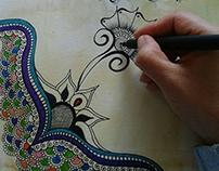 Ilustración y Dibujos hechos a mano