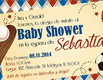 Invitación Baby Shower Sebastian