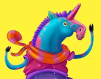 The Unhappy Unicorn