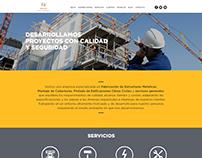 LHUMAD Servicios Integrales - Diseño de sitio web