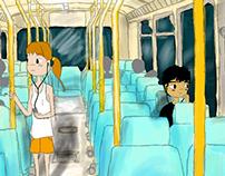 Starring yellow - processo de concept e animação