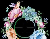 Logo  de Té con acento.  Línea de eventos