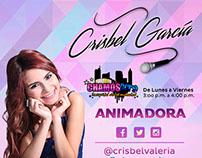 Crisbel Garcia - Animadora