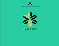 Logo Oficial (Haze & Jeey) Artistas de la cuidad de Med