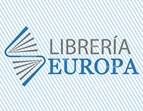 Manual de Identidad Corporativa Librería Europa