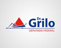 Dep. Federal Dr. Grilo - Marca e Identidade Visual