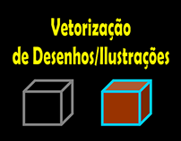 Vetorização de Desenhos/Ilustrações