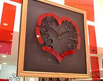 Coração Vitrine Kiaroscuro