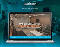 Analiticom - Website