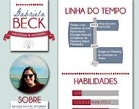 Currículo Gabriela Beck - Versão Antiga