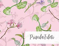 Delicate Botanicals Pattern