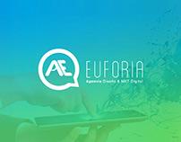 Imagen Corporativa y Sitio web Agencia Euforia
