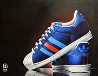 Ilustración calzado-Ilustración Análoga