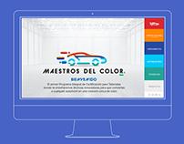 MAESTROS DEL COLOR - WEB DESIGN