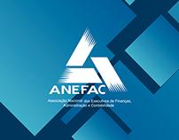 Redesign de Papelaria e Anúncio - ANEFAC