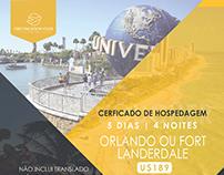 Peças Gráficas | Agência de Turismo