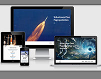 Simple Wordpress landingpage