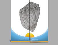 Ilustraciones y diseño de folleto.