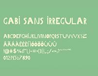 TIPOGRAFIA // Gabi Sans Irregular