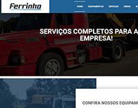 Site Transportes Ferrinho (transportesferrinho.com.br)