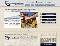Sampa Móveis - Criação do Site