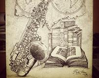 Ilustración, musica y viaje