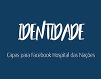 Capas para Facebook Hospital das Nações