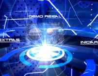 Menu Blu Ray , DVD  Demo Reel 2014