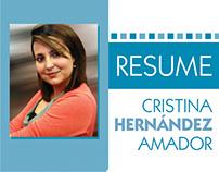 Resume Cristina Hernández Amador
